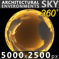 Sky 360 Sunset 023 5000x2500