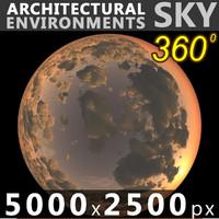 Sky 360 Sunset 034 5000x2500