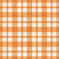 Coordinated Cottons - Apricot on White Plaid