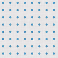 Coordinated Cottons - Blue on White Polka-Dots