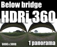 Hdr Below bridge