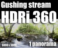 Hdr Gushing stream