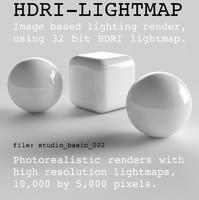 HDRI studio basic 002