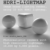 HDRI studio basic 006