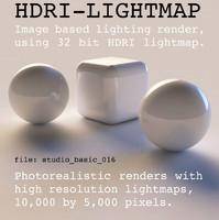 HDRI studio basic 016
