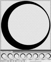 Spinning moon preloader