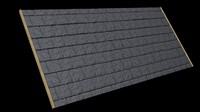 Seamless Slate Roof Tile