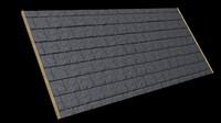 Seamless Slate Roof Tile