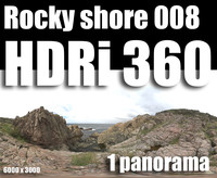 Hdr Rocky shore 008