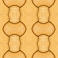 Yellow Block Tile Texture 2