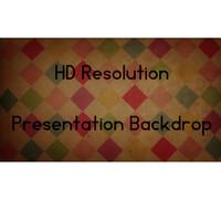 Presentation Diamond Backdrop