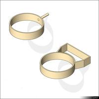 Wall Bracket Ring 01487se