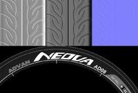 Tire Texture Yokohama  Advan AD08
