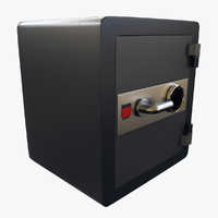 3ds max combination safe box