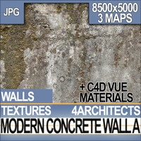 Modern Concrete Wall Material A