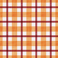 Coordinated Cottons - Red on Apricot Plaid