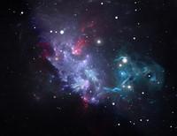 C2D3 Space star nebula