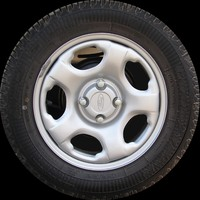 Ford Eco Sport truck wheel texture