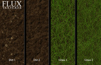 High Resolution Grass and Dirt