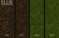 High Resolution Grass and Dirt