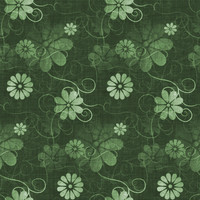Fun with Florals - Green Floral 4