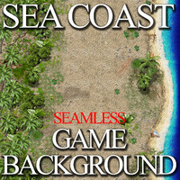 Jungle Coast Game Background