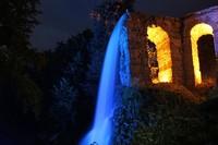 Illuminated water festival
