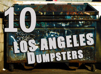 Donwtown Los Angeles  Dumpsters