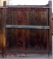 Wooden Apartment Fence