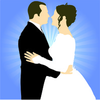 Vector Stock: Married Couple
