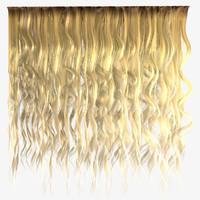 Messy Blonde Hair Textures