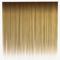 Blond Straight Hair Texture