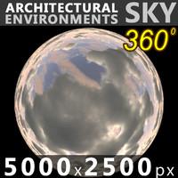 Sky 360 Clouded 006 5000x2500