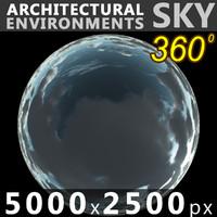 Sky 360 Clouded 008 5000x2500