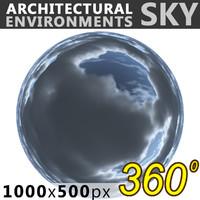 Sky 360 Clouded 012 1000x500