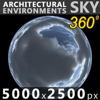 Sky 360 Clouded 012 5000x2500