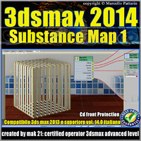3ds max 2014 Substance Map v.14 Italiano cd front