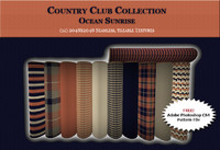 Country Club Twills - Ocean Sunset