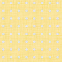Coordinated Cottons - White on Yellow Polka-Dots