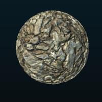 Brown Jagged Stones 01