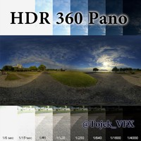 HDR 360 pano Rio bay sunrise04