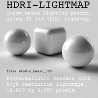 HDRI studio basic 005