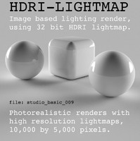 HDRI studio basic 009
