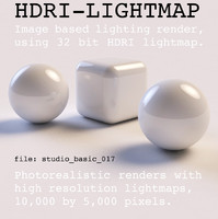 HDRI studio basic 017