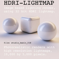 HDRI studio basic 018