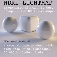 HDRI studio basic 019