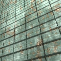 Metal Plate 3 | Tileable | 2048px