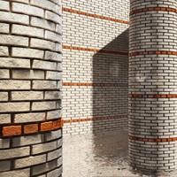High Resolution Tileable Stripes Brick (3)