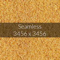 Crushed wheat texture
