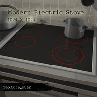 modern electric stove
